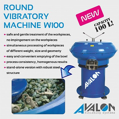 New ! Round Vibratory Machine W100